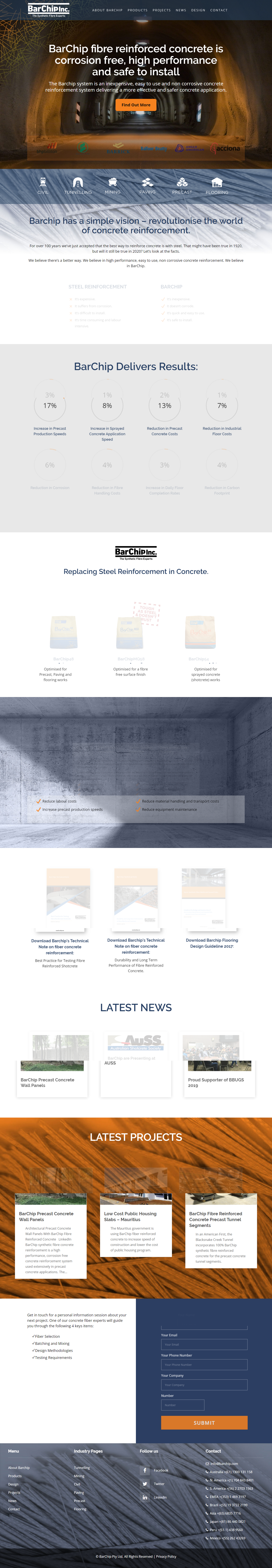 Barchip Home Page