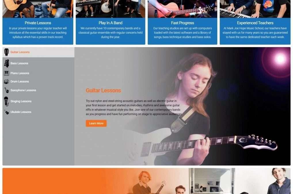 Mark Joe Hope Music School in Brisbane